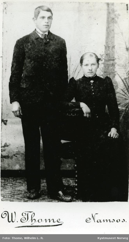 Amalie og Edvin Halmøy