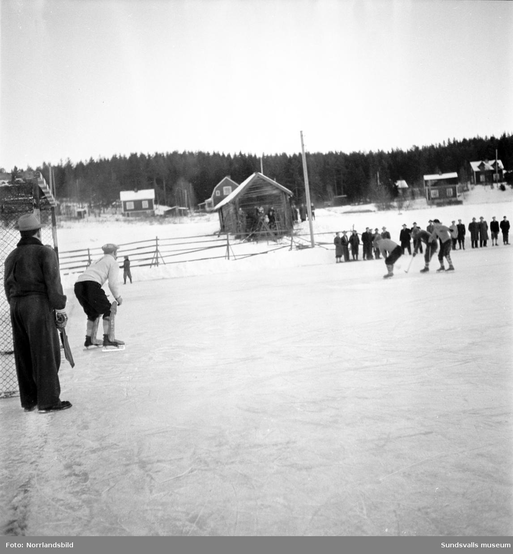 Bandymatch, Heffners-Skutskär.