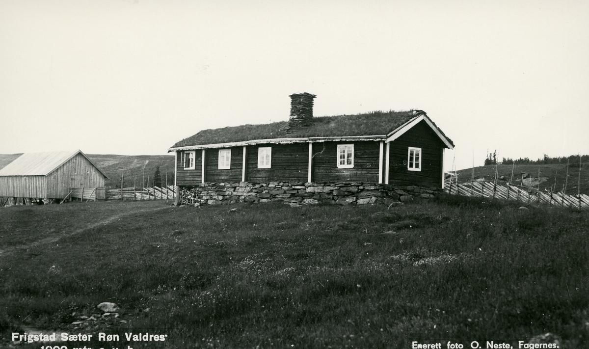 Stølssæl på Frigstad seter i Vestre Slidre