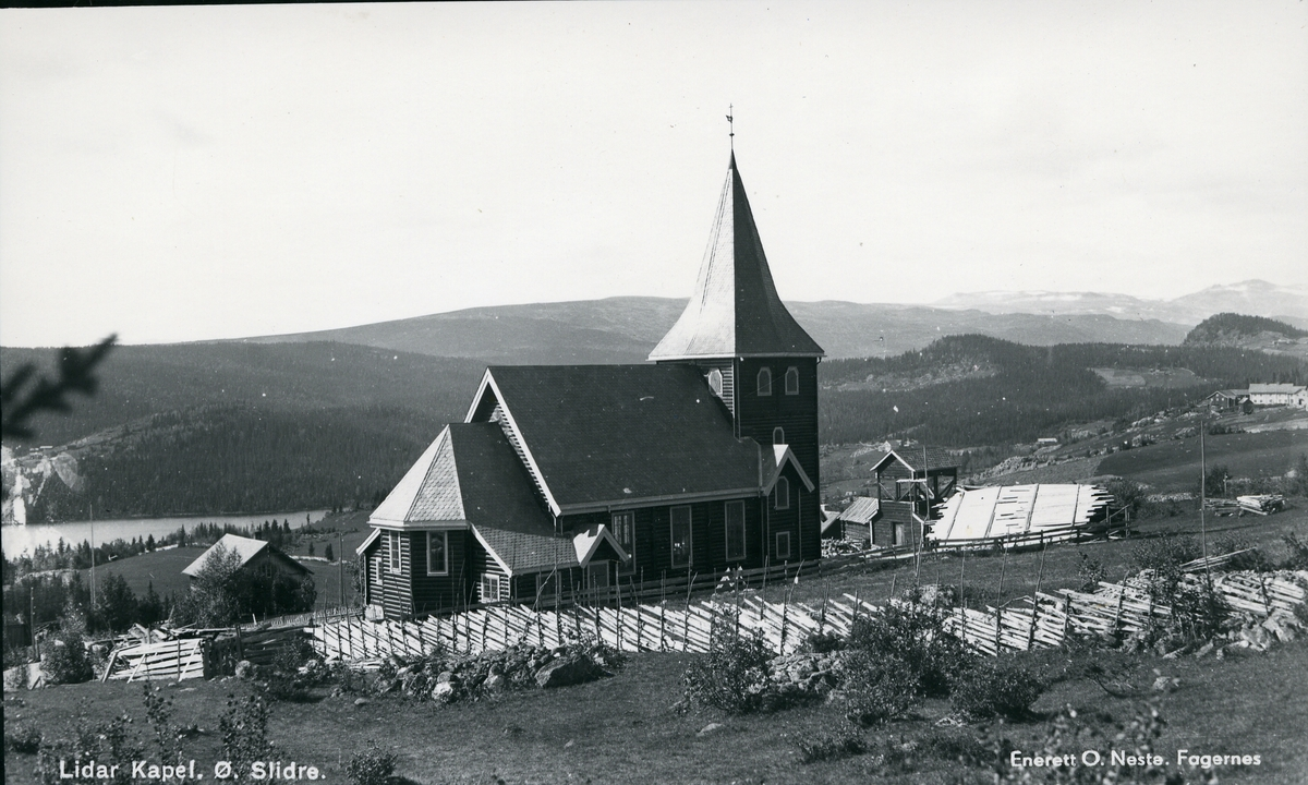 Lidar kapell i Skammestein