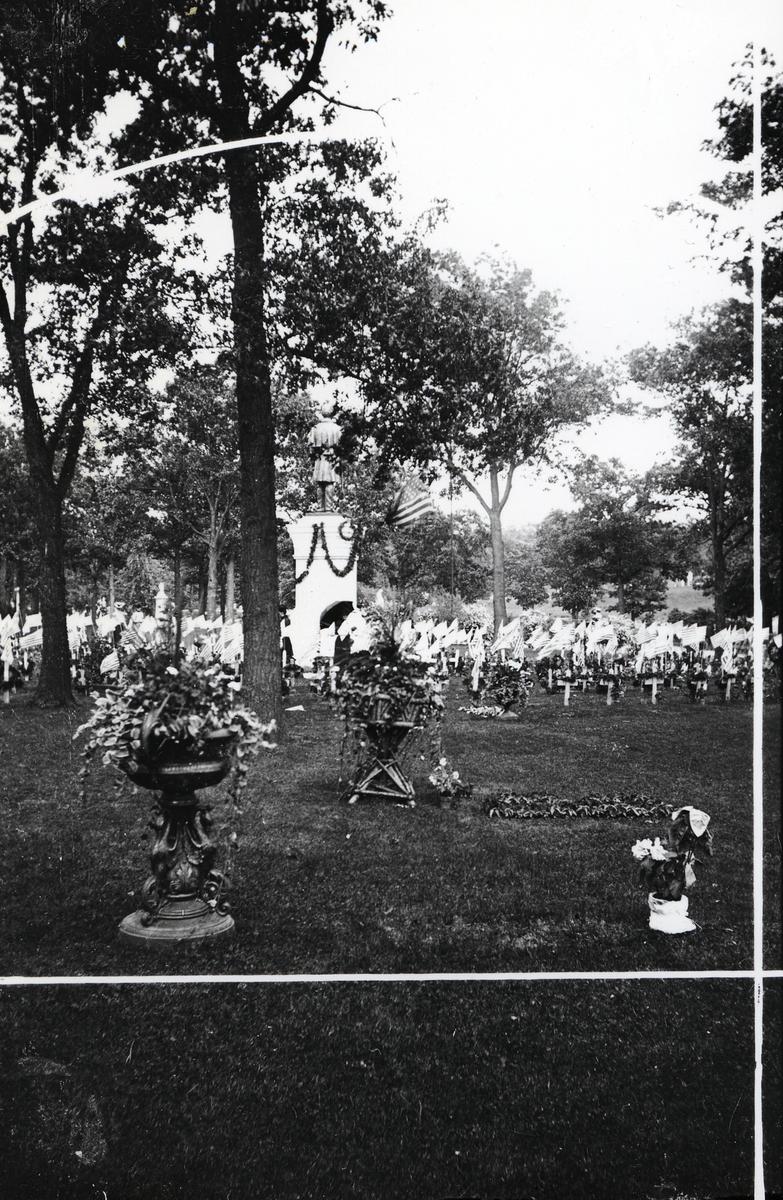 Kirkegård. USA
