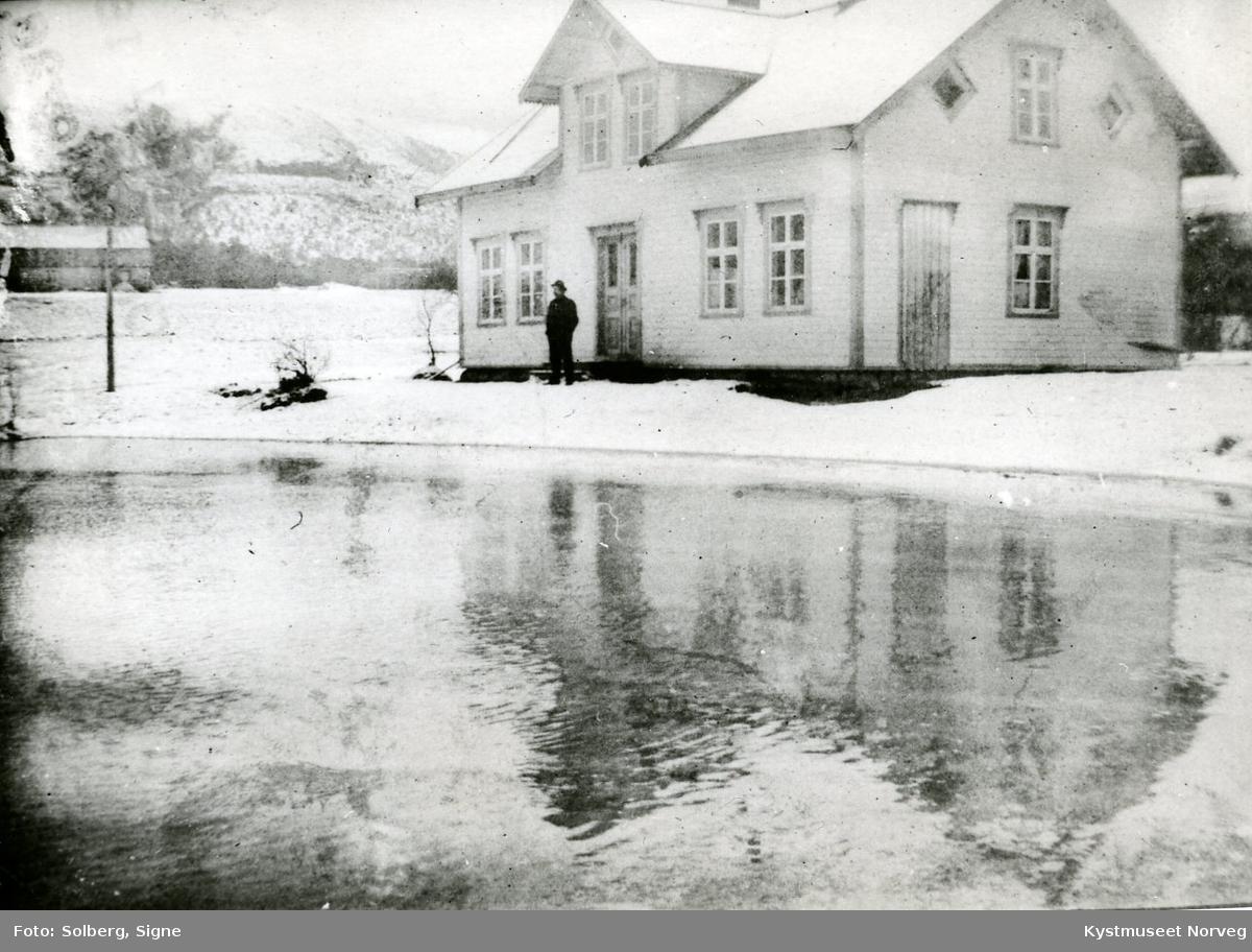Bank-lokalet på Vik i Flatanger