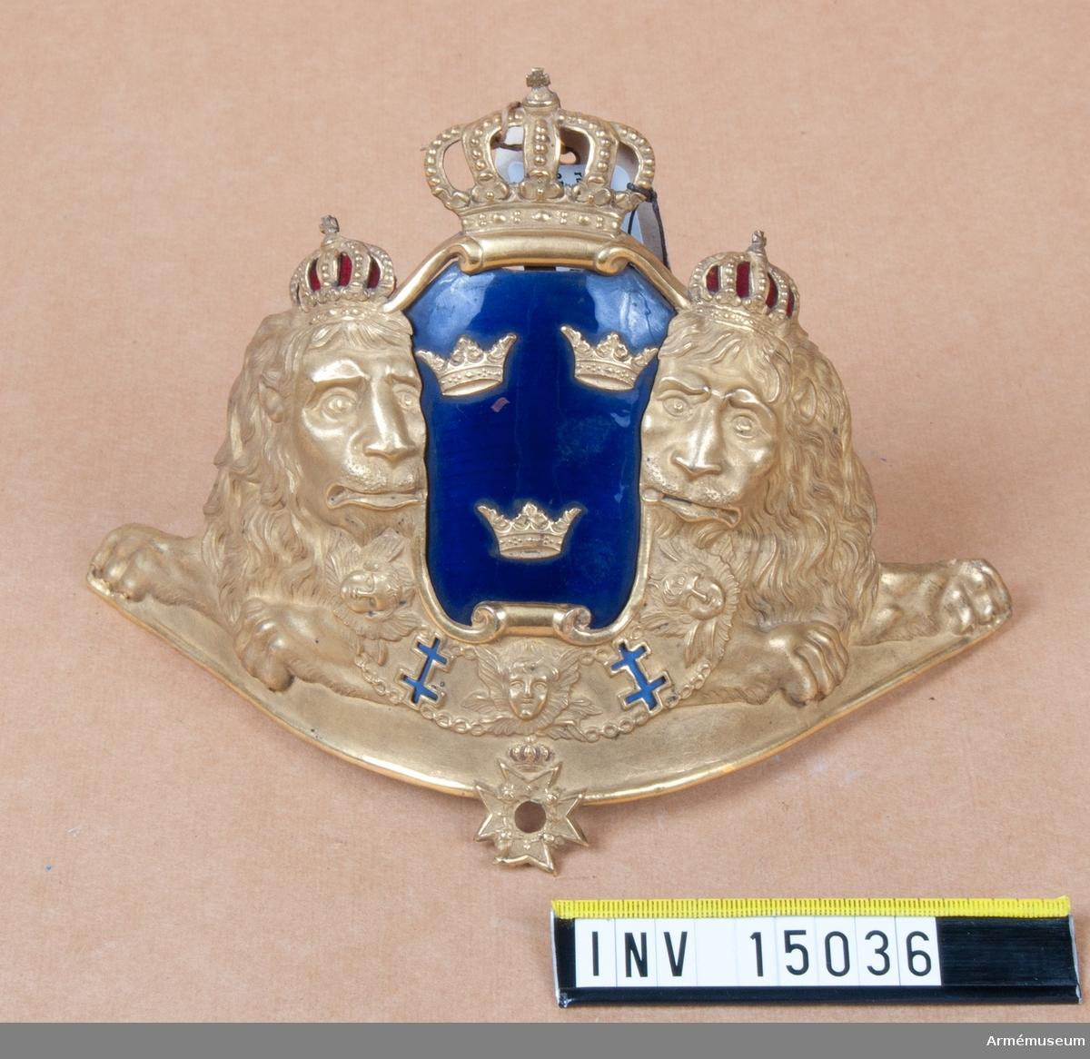Grupp C. Ink. av juden J. Levy 1888-12-10. Stockholm. På plåten står: gåva av gördelmakaren H.B. Hultman, Stockholm.