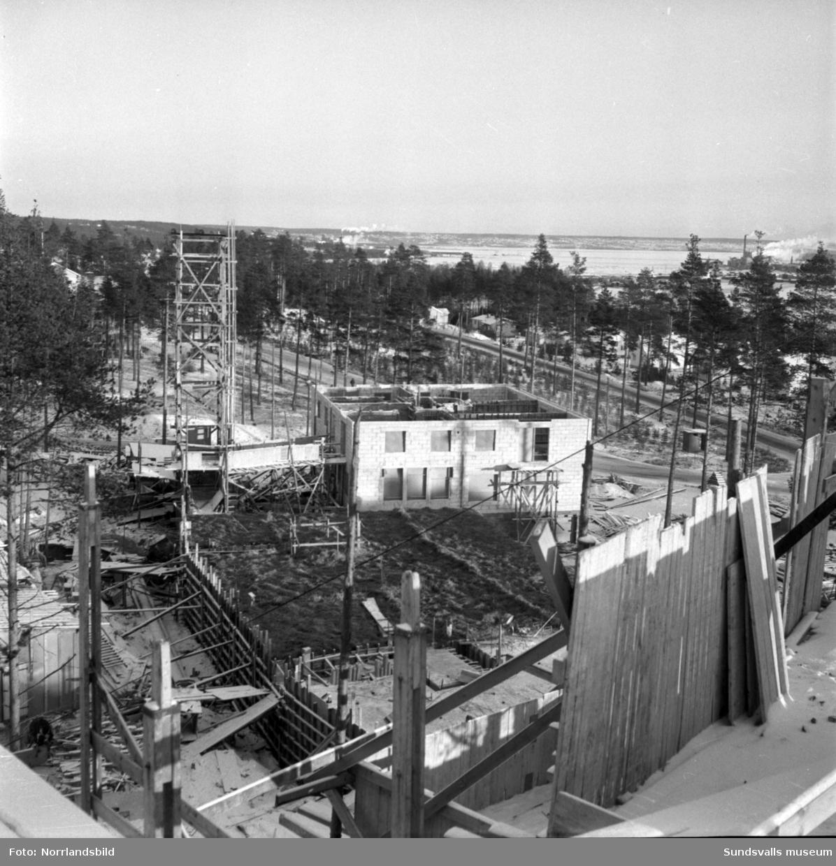 Bygge i Timrå.