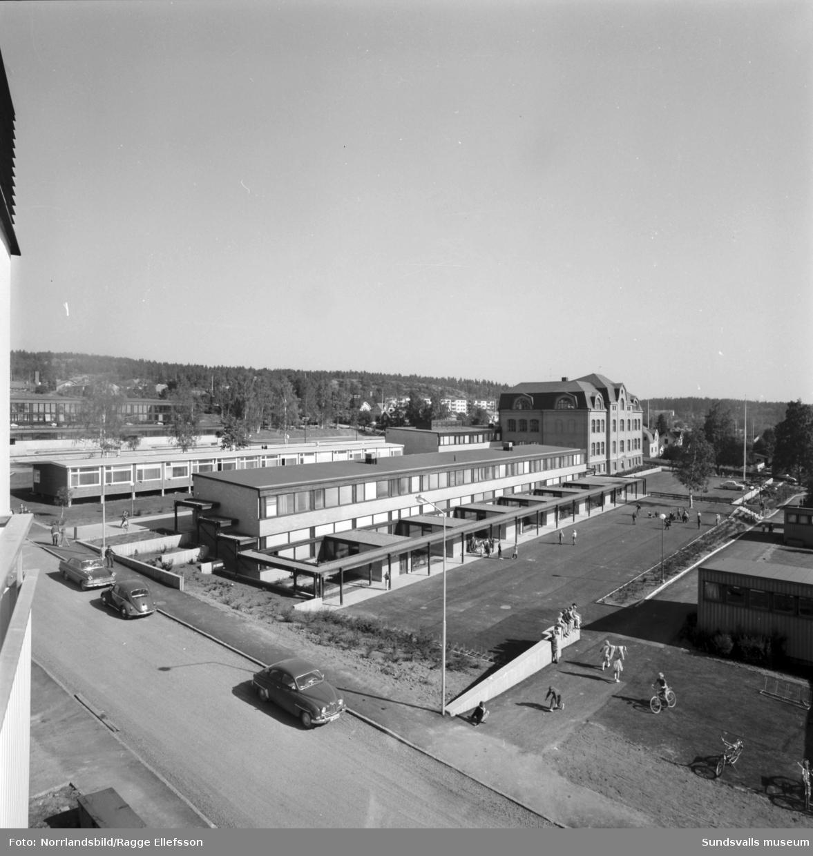 Skönsbergs skola, exteriörbild.