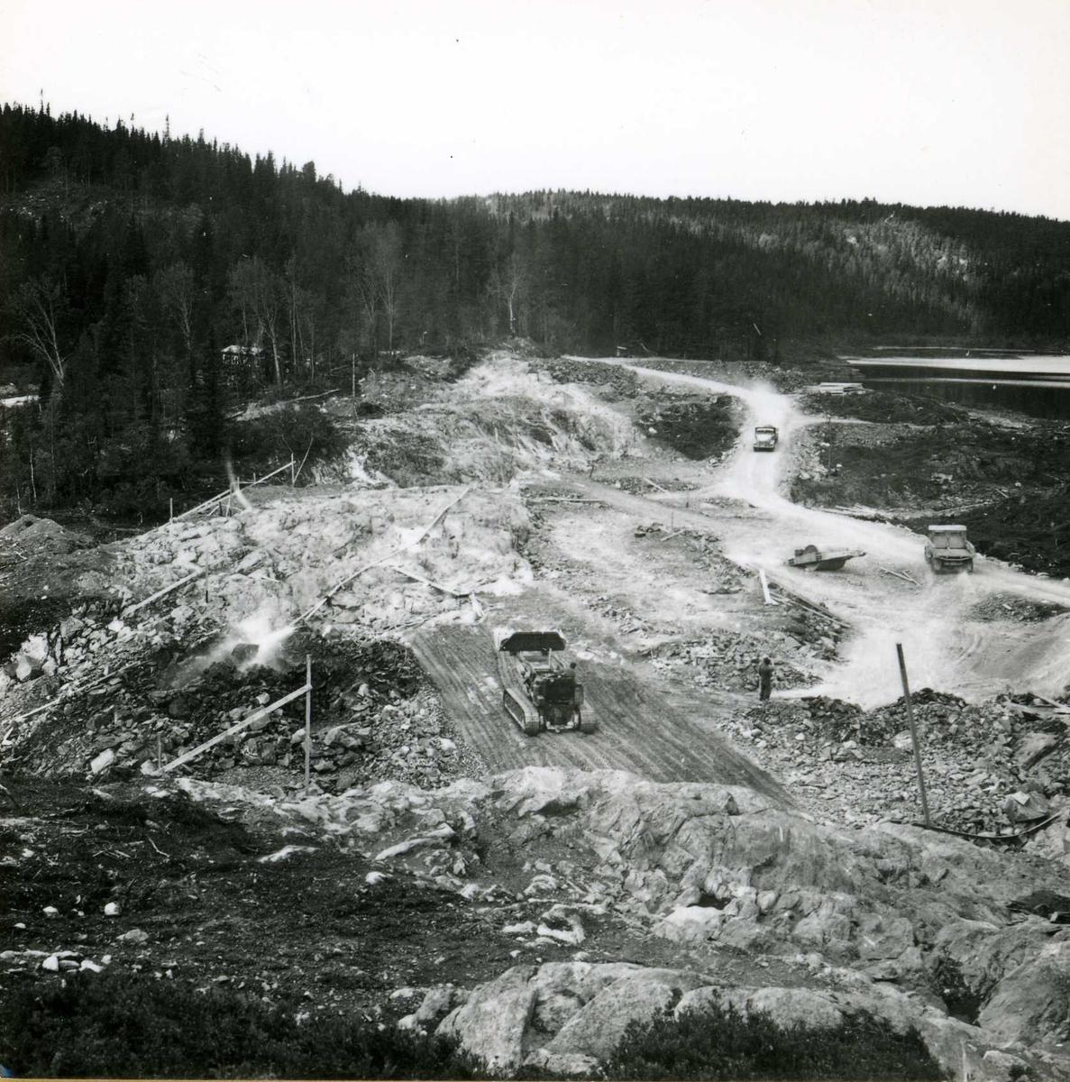 Inntak og dam. Våmar vatn + Kåsvatn  (19)