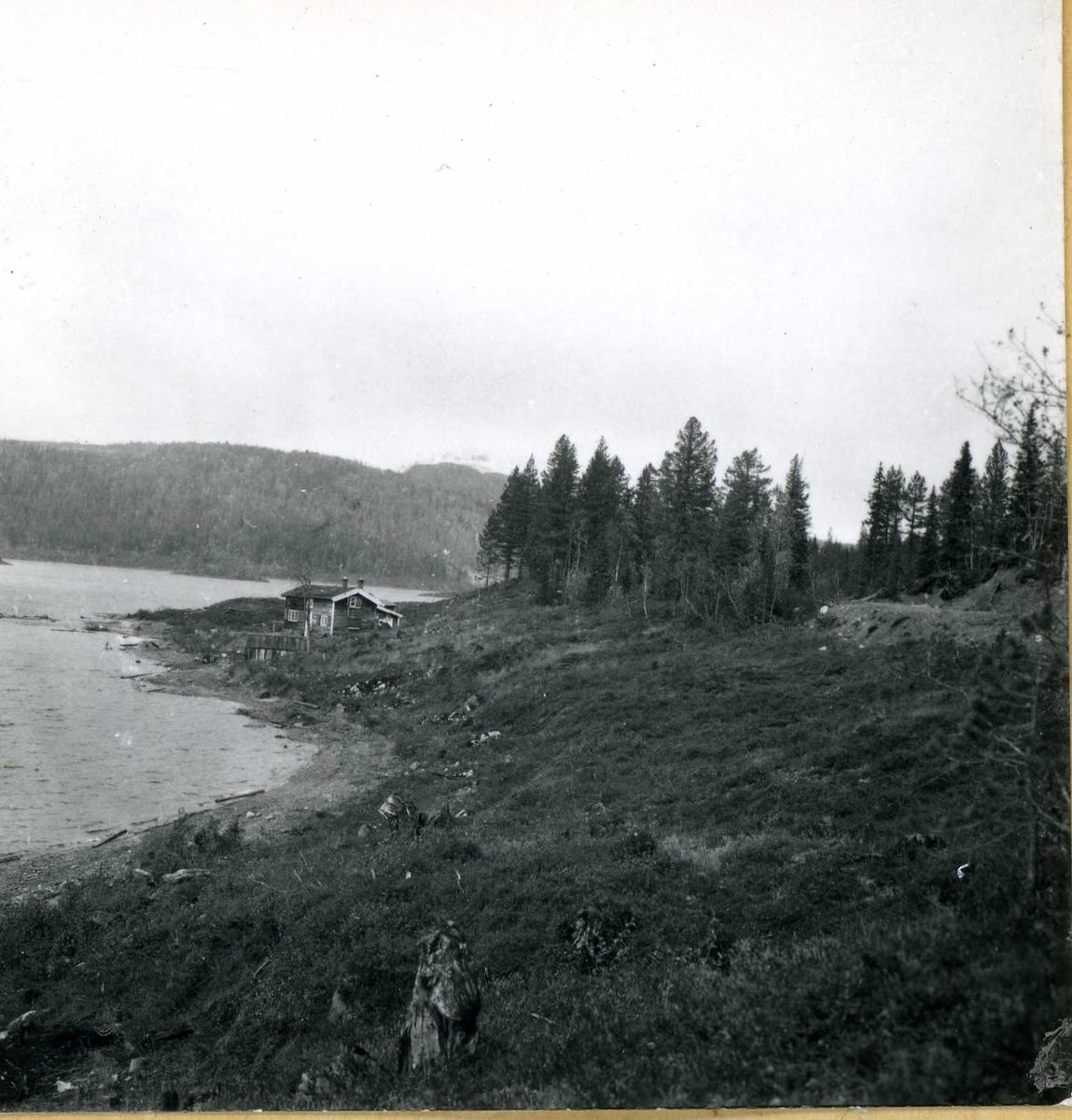 Inntak og dam. Våmar vatn + Kåsvatn  (35)