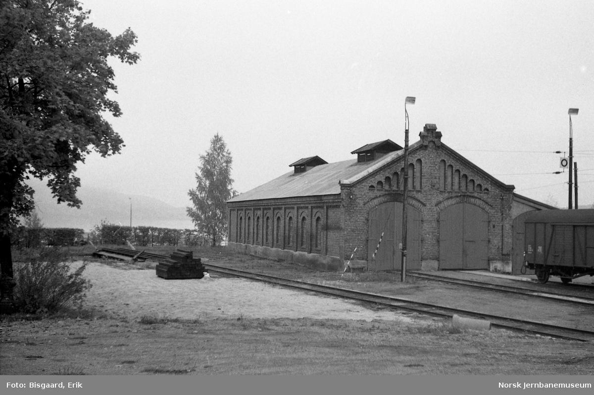 Lokomotivstallen på Gjøvik stasjon