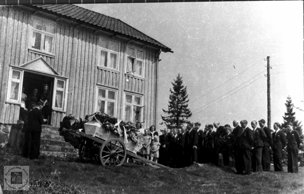 Gravferd til Torkel Olson Bjerland