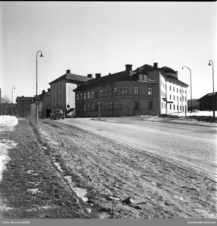 Verkstadsskolan, Grönborg, exteriörbilder.
