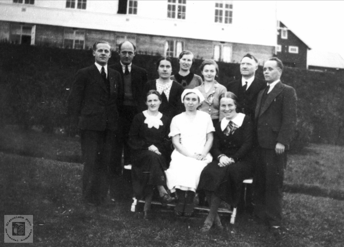 Lærerpersonal m/ ektefeller, Øytun ungdomskole, Finnmark