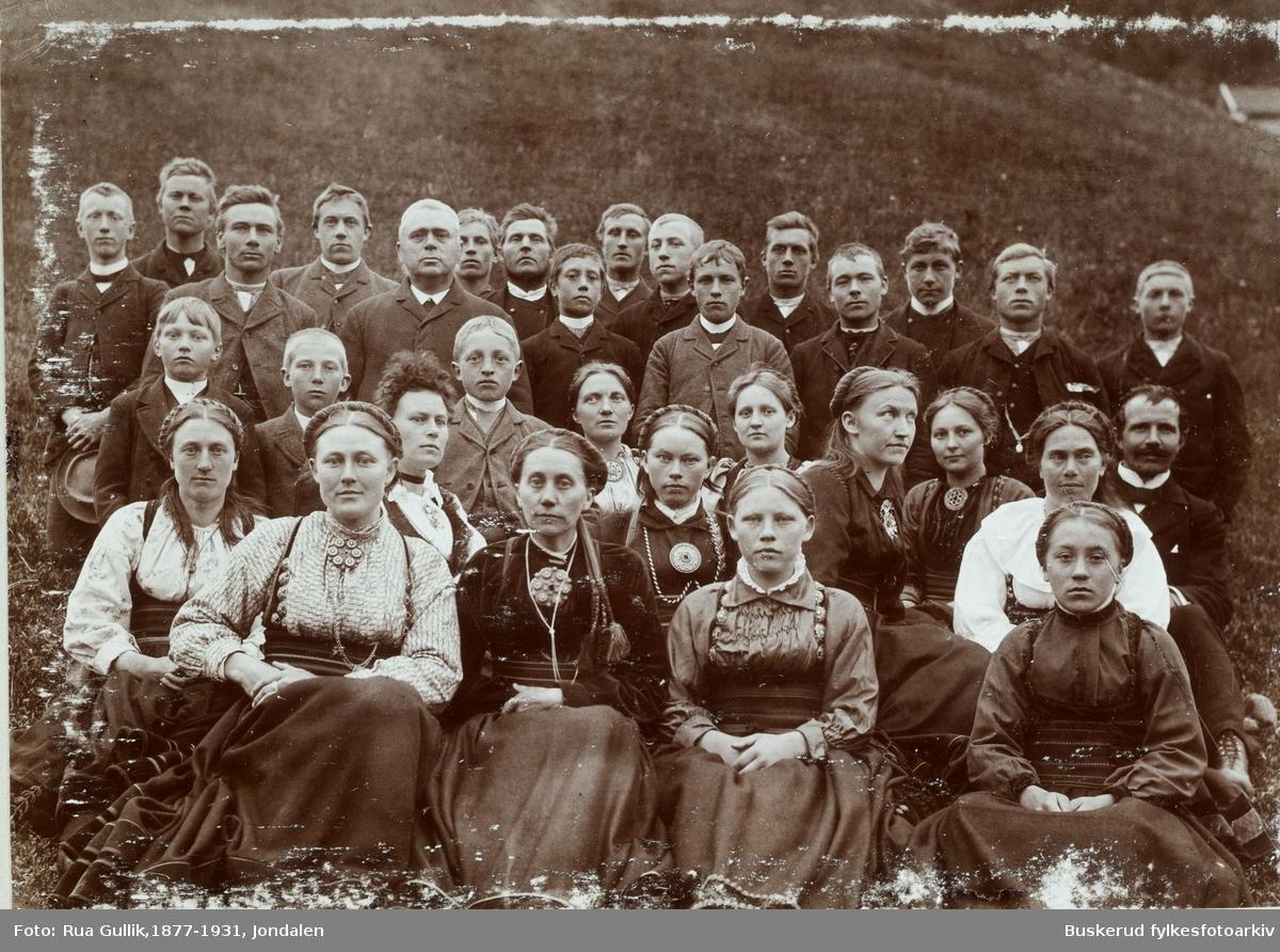 Sauland Ungdomslag sangkor Telemark 1897