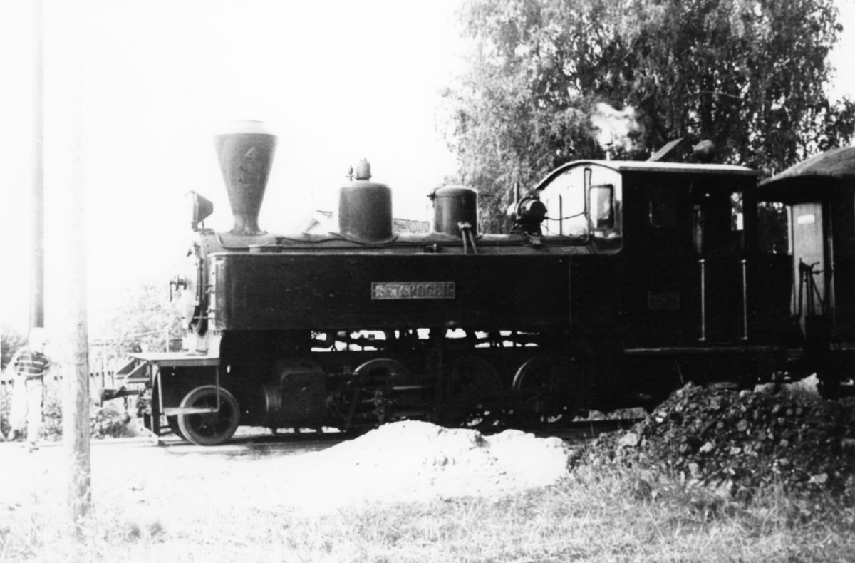 Damplok 4 Setskogen på Fossum stasjon.