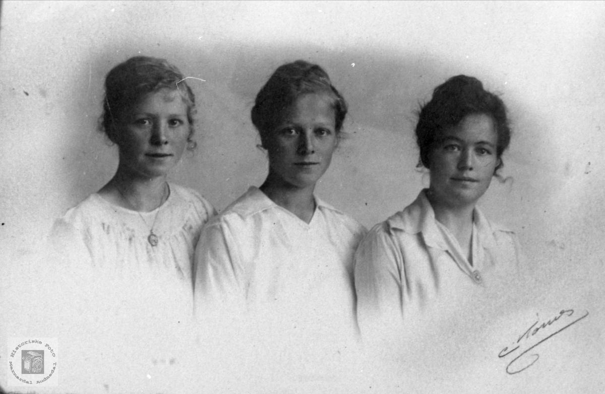 Tre søstre, Trygsland.