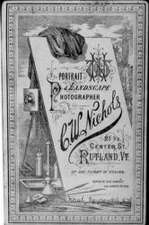 Fotoapparat anno 1860-åra.