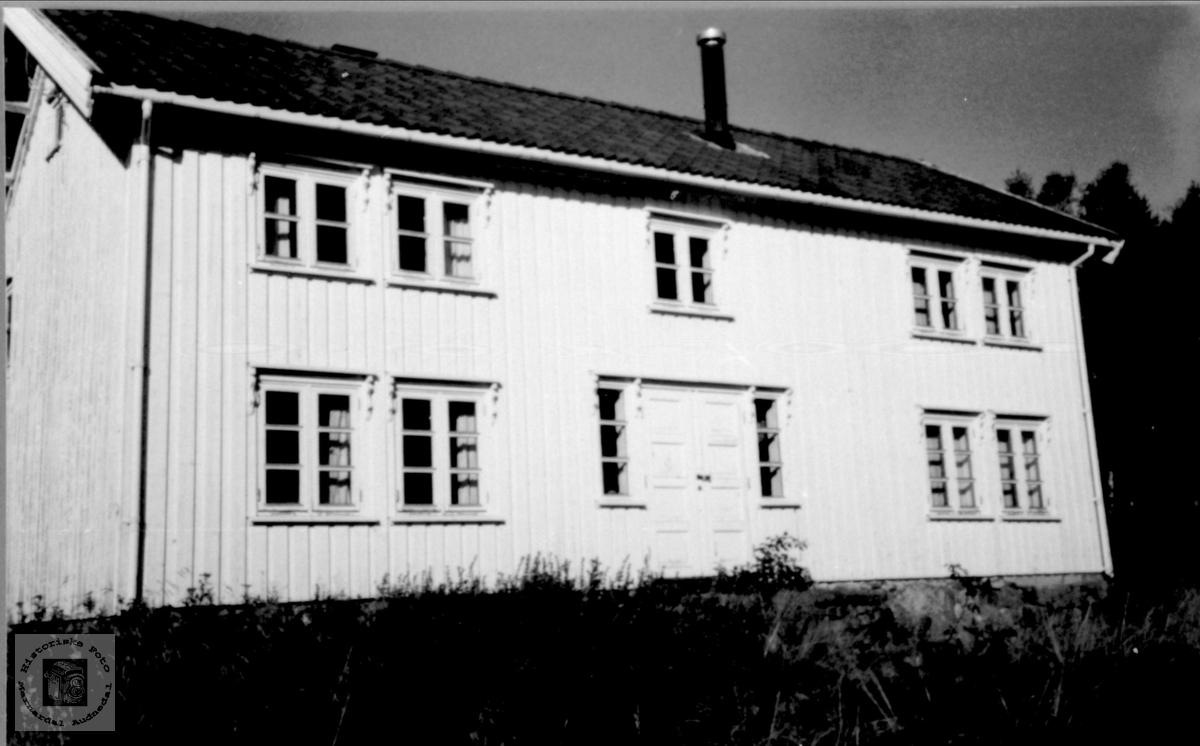 Setehus på Bjørnhom, Laudal.
