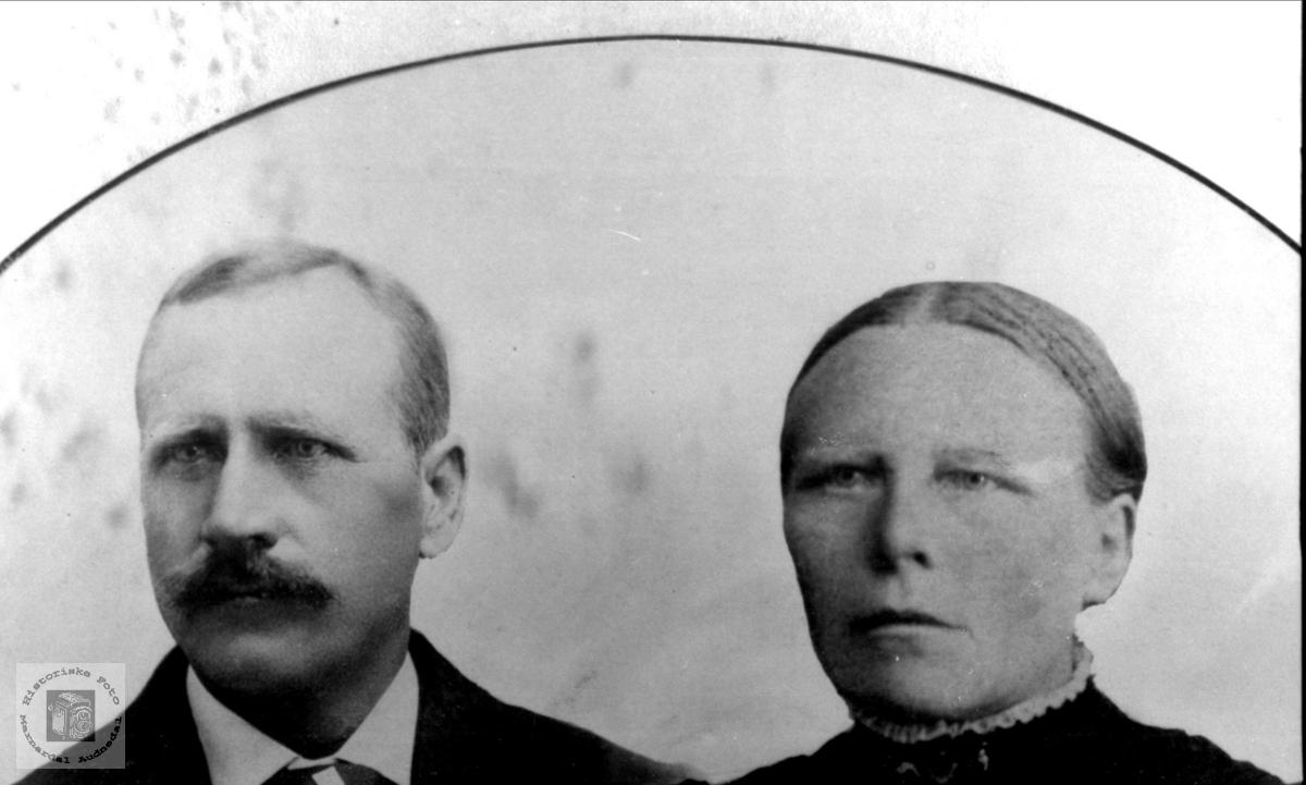 Ekteparet Ola Lindland og Randi Birkeland