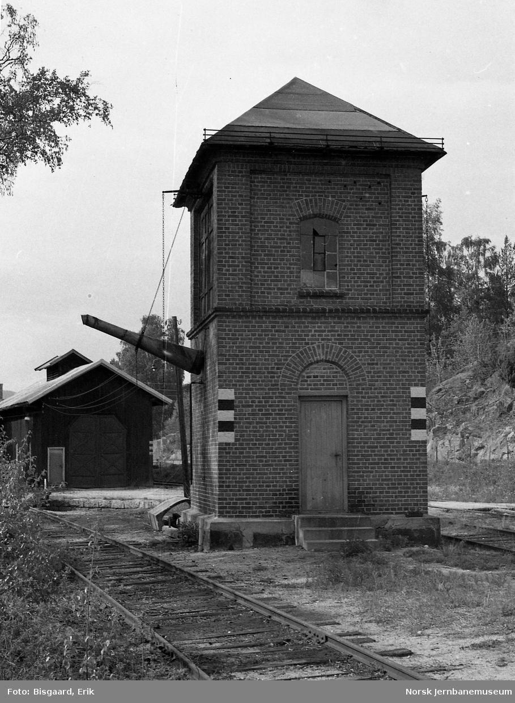 Vanntårnet på Krøderen stasjon