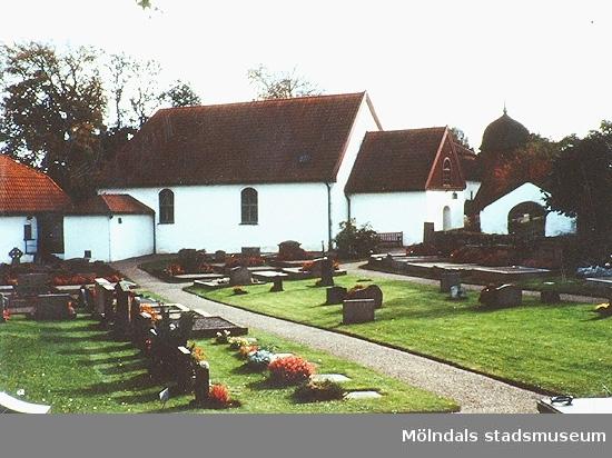 Kyrkan är kommunens äldsta. Vissa delar av den är från 1200-talet. Okänt årtal.