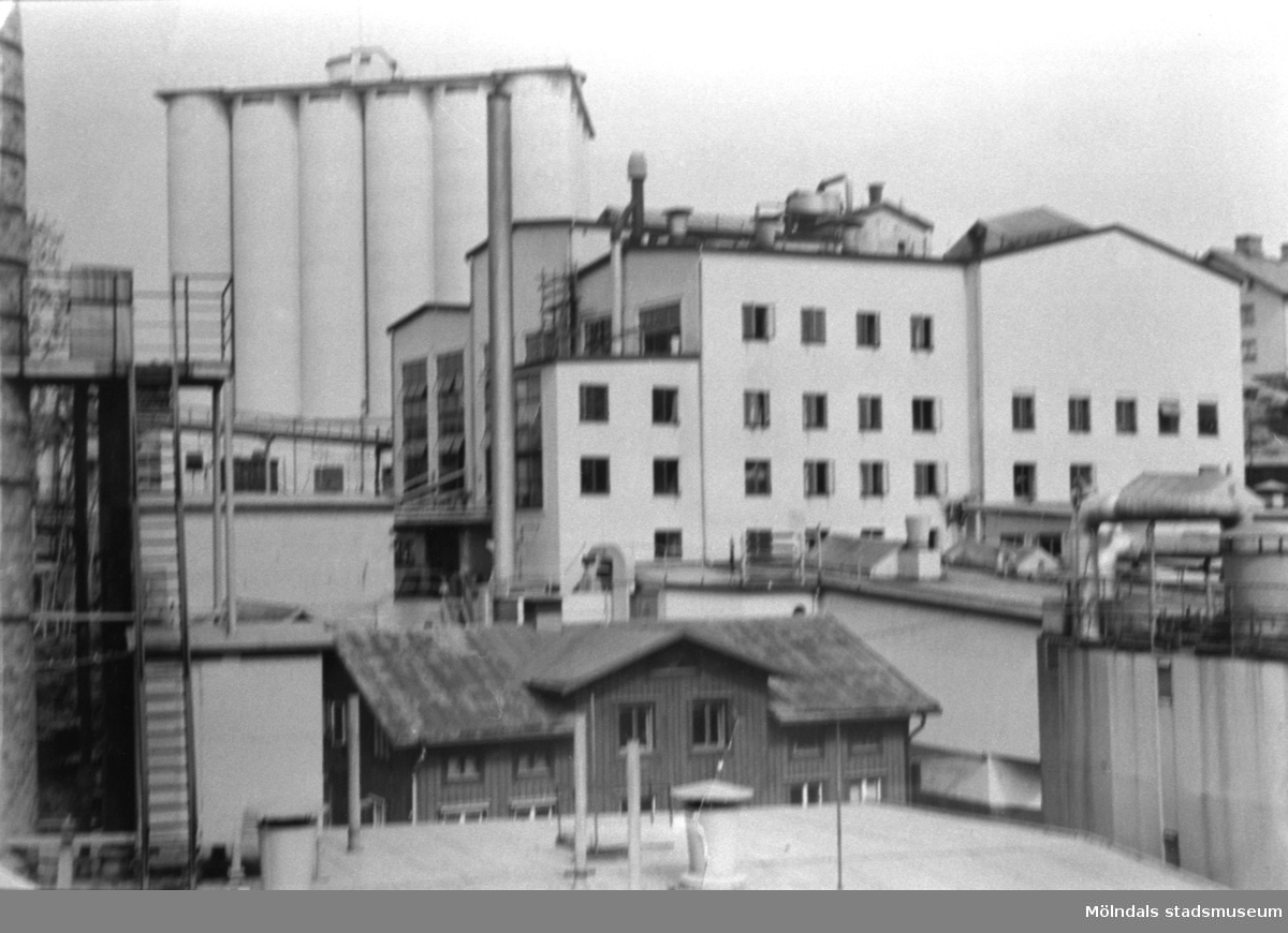 Papyrus industrier i Mölndal.