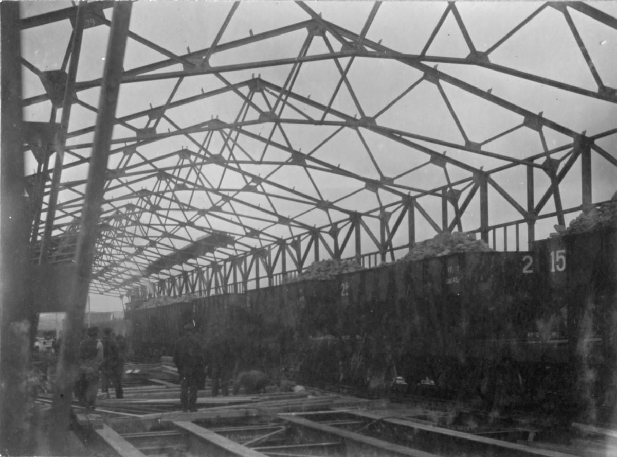 Jernbanevognen. Kirkenes, 13/7 1910.