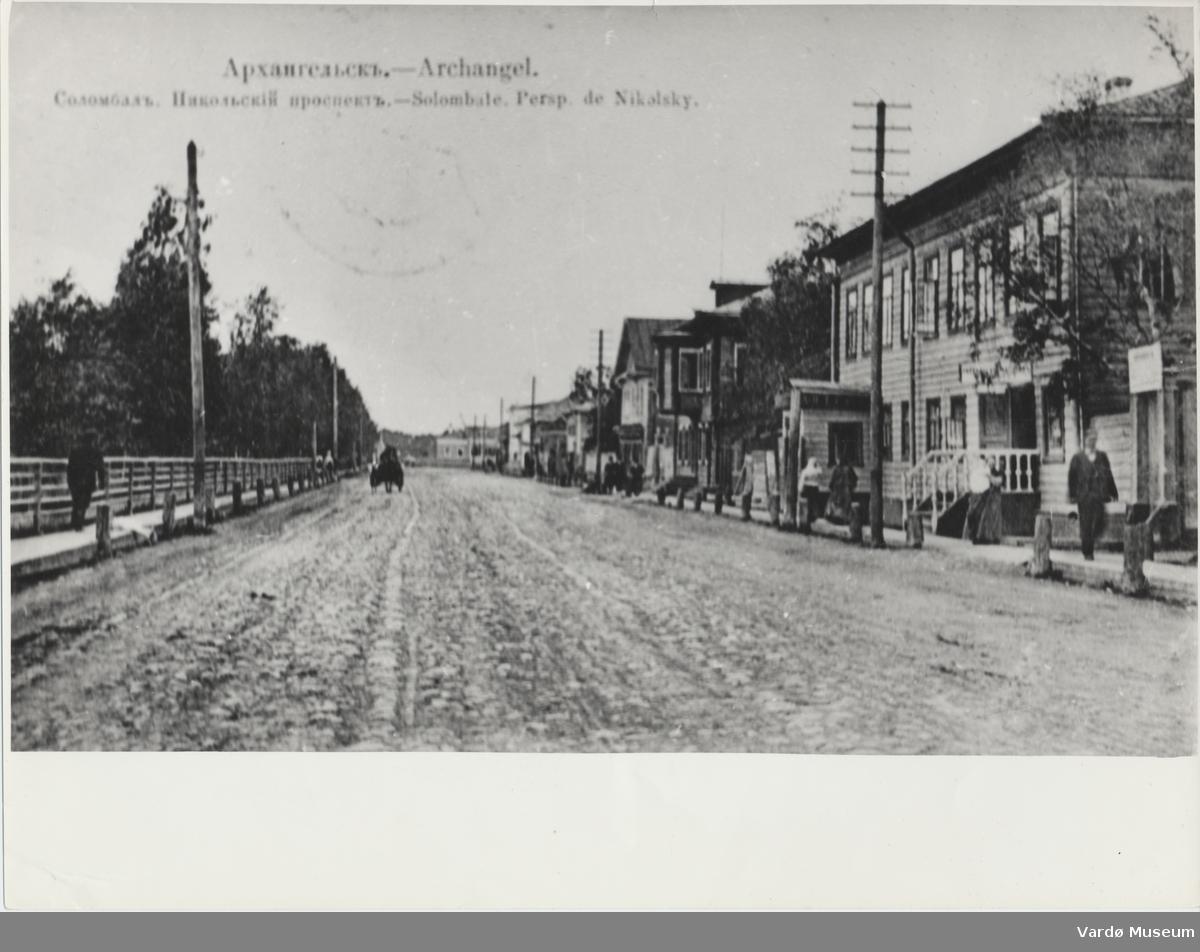 Solombala, Nikolskij avenyen