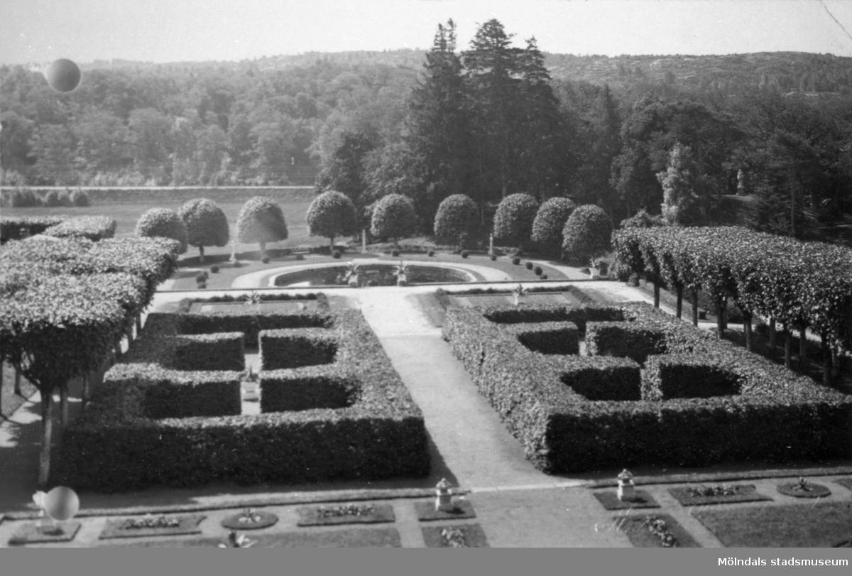 Gunnebo slottspark, 1920-tal.