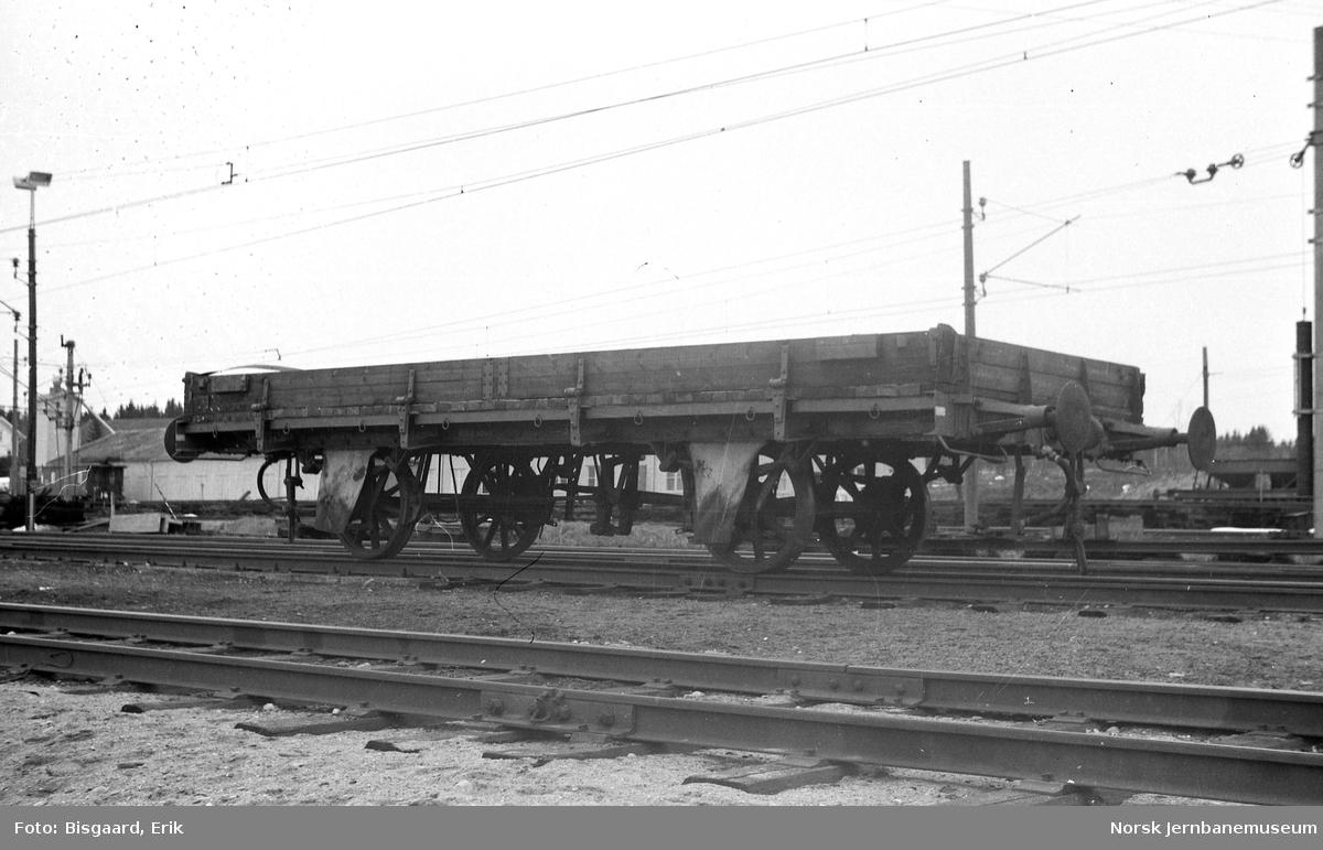 Grusvogn litra M2 nr. 23456 på Ski stasjon