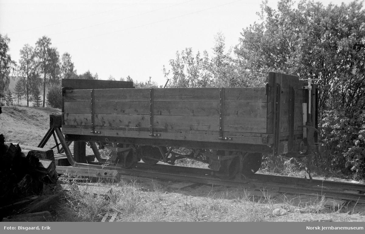 Museumsbanens godsvogn litra K nr. 19