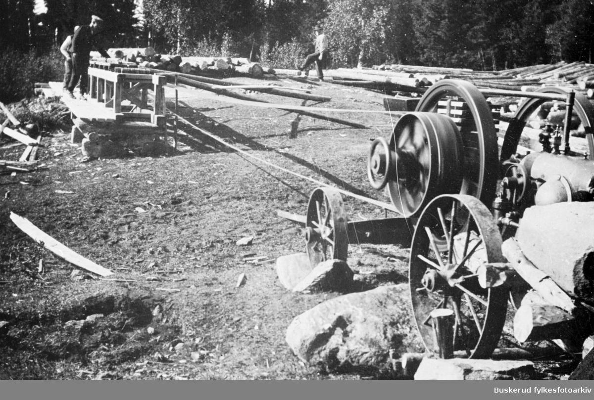 Gammel gårdssag Norderhov