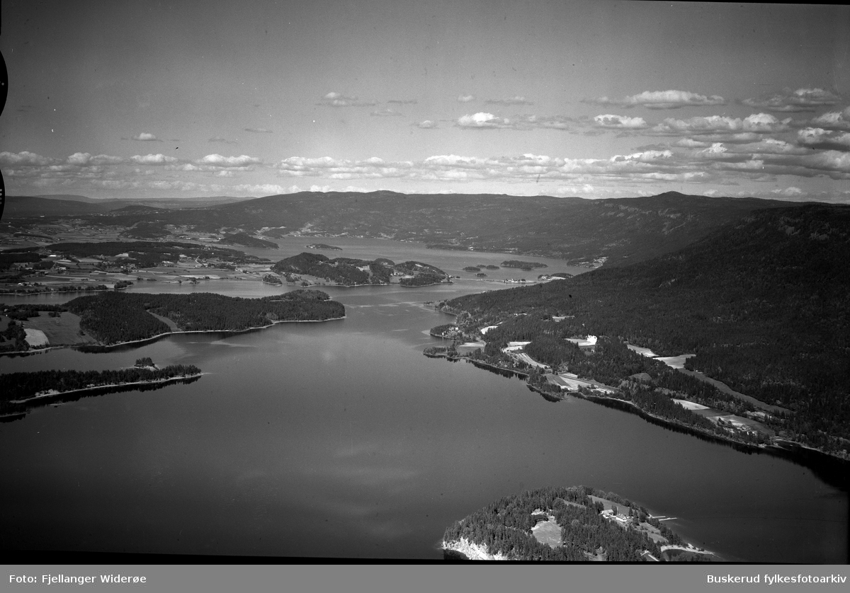 Neslandet, Storøya, Steinsfjorden, Tyrifjorden 1947