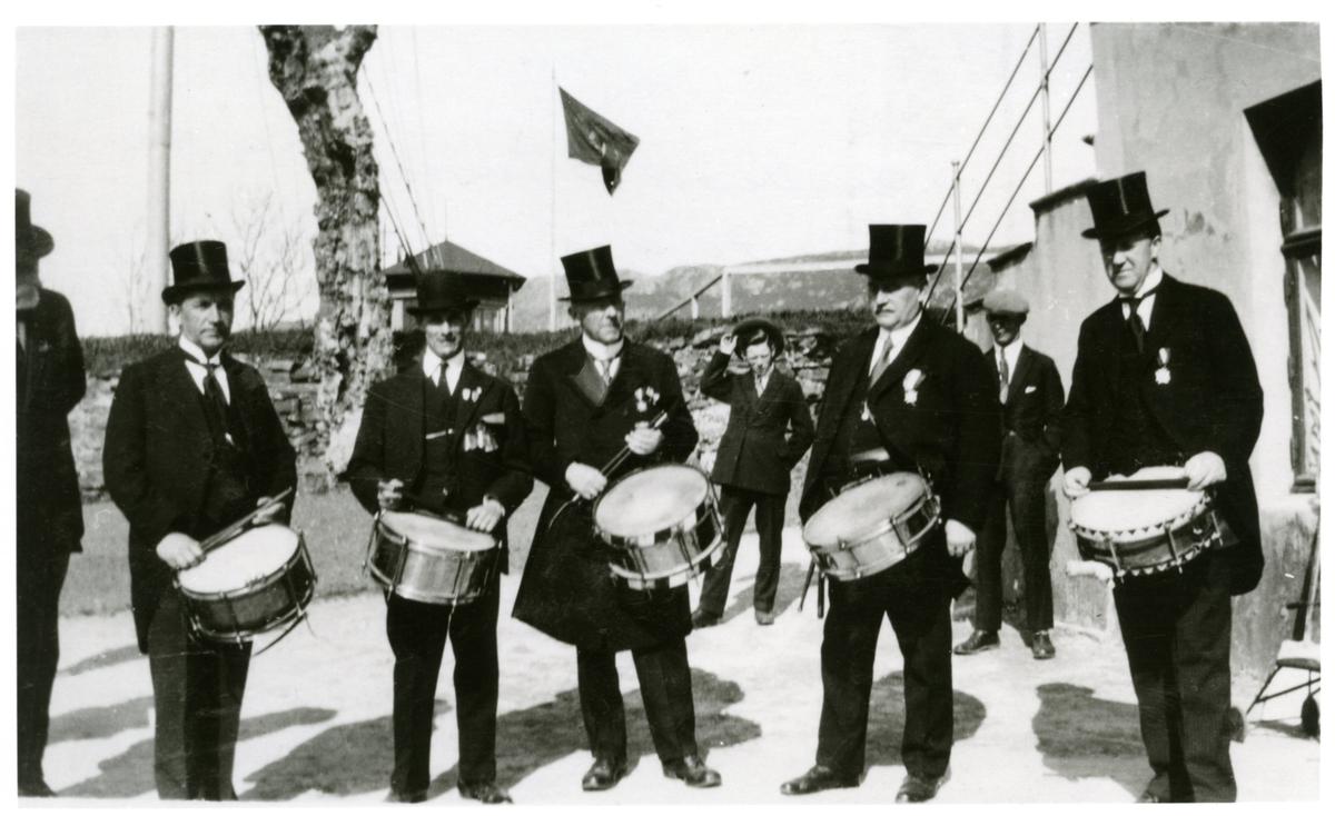 Nordnes bataljons 70-års jubileum 1928