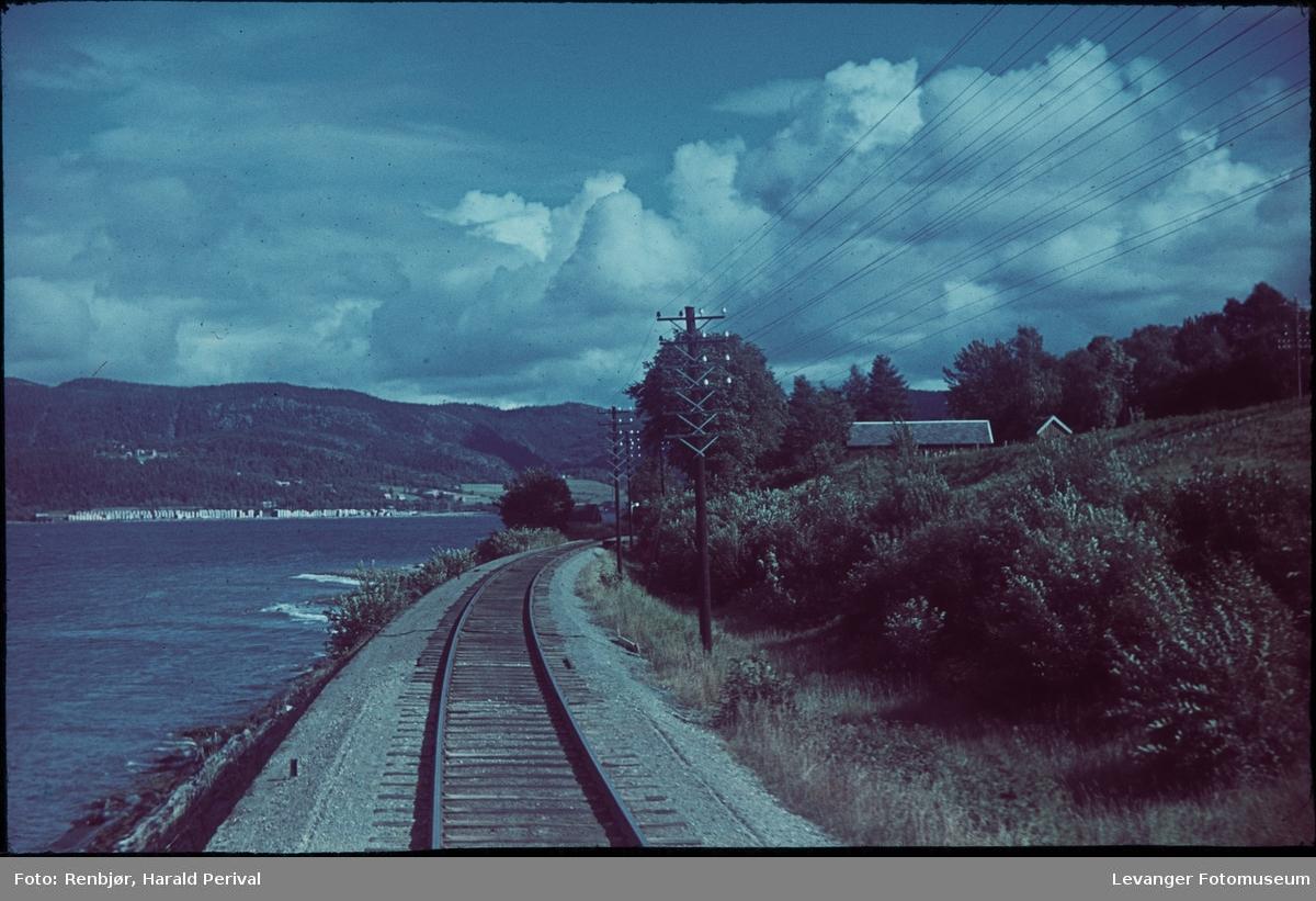 På veg mot Steinkjer.