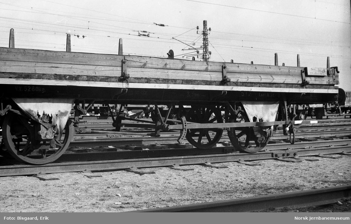Grusvogn litra XM1 nr. 14423 på Ski stasjon