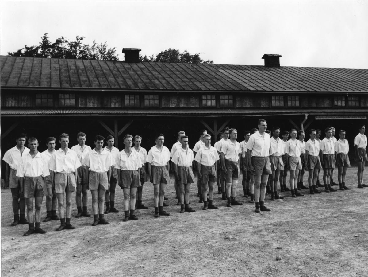 Inspektion, A 6. Regementschefens utbildningskontroll, fysisk träning.