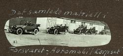 Det samlede materiell i Forsvarets automobilkorps Akerhusfe
