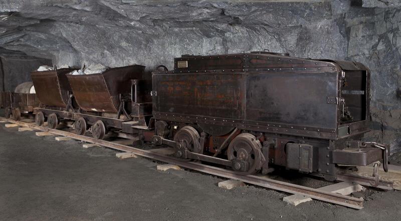 Bensinlokomotivet fra 1913. (Foto/Photo)