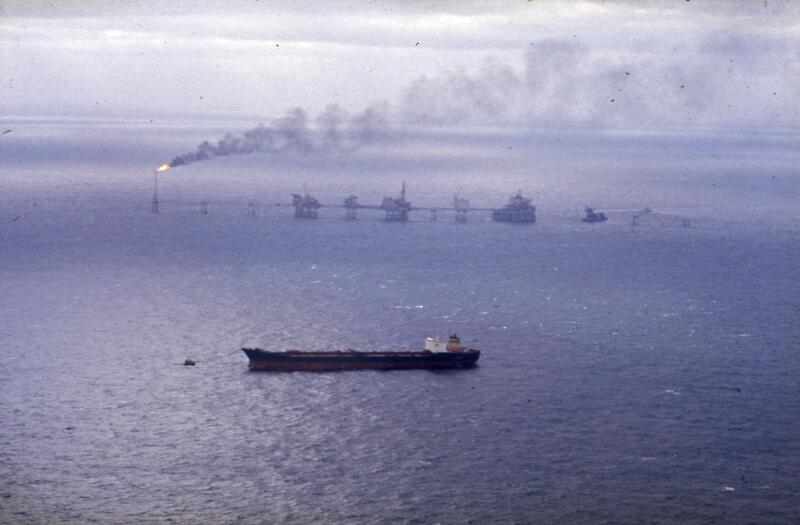 Ekofisk 1975 (Foto/Photo)