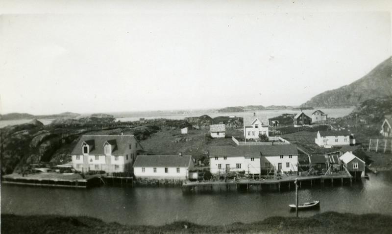 Skipnes på Tindsøya i Øksnes, Vesterålen.