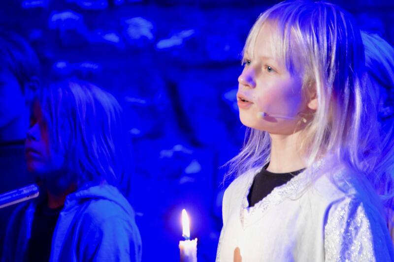 Lussi med lyset er motvekten til den mørke og skumle Lussi. (Foto/Photo)