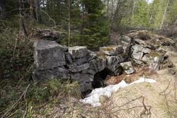 Nye Ravnås pukkverk (1760) ligger ved Vinorenveien. (Foto/Photo)