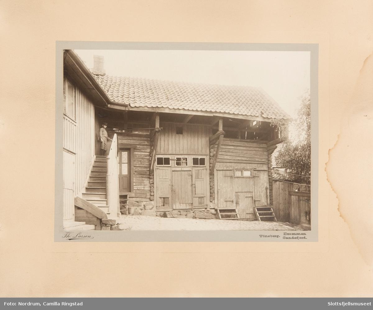 Bakgård i Tønsberg