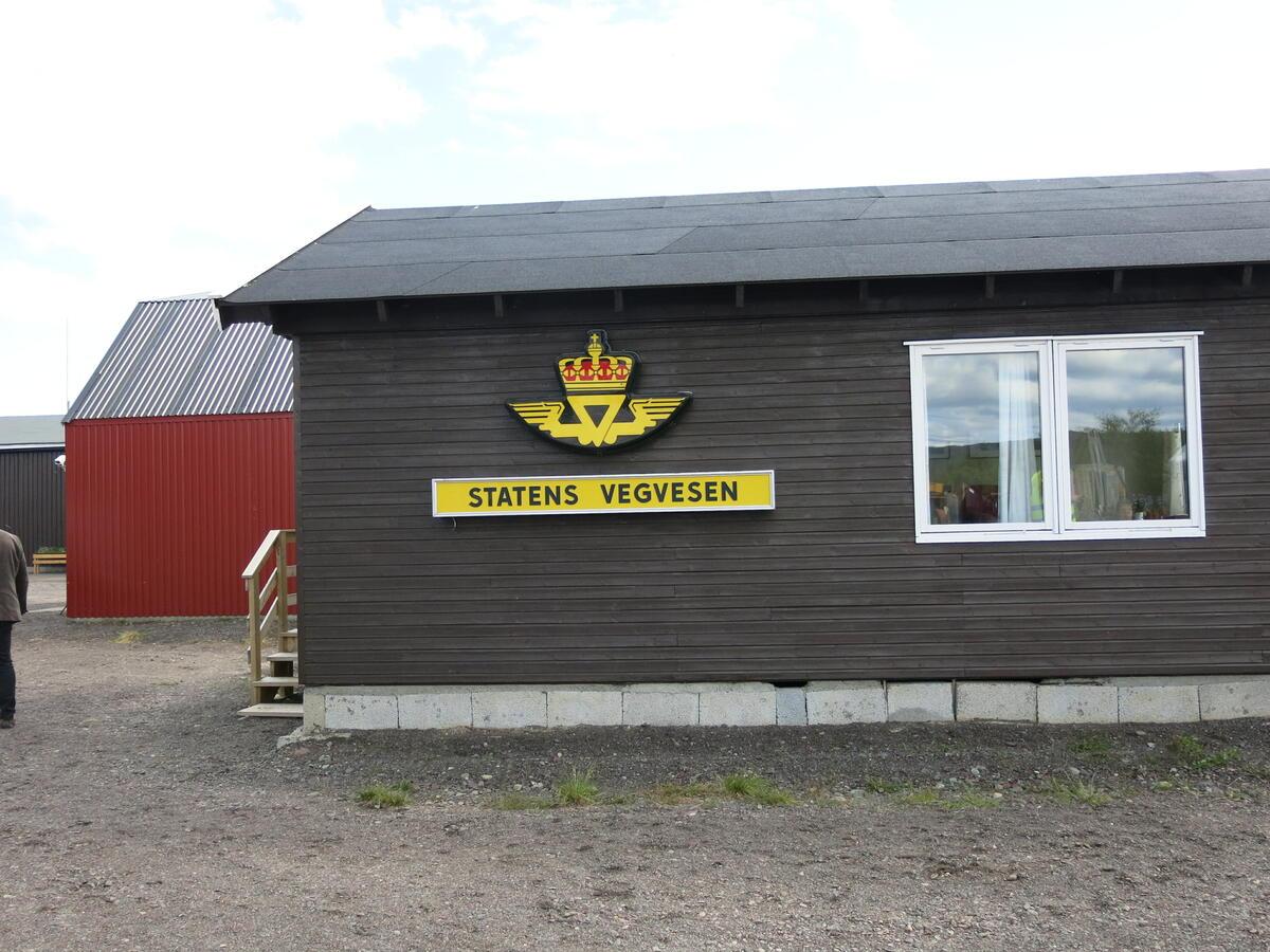 Skiippagurra vegstasjon. Foto: Norsk vegmuseum (Foto/Photo)