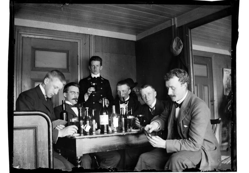 Herreselskap 1903 (Foto/Photo)