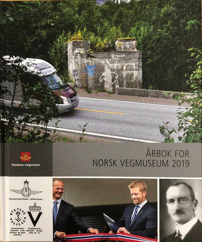 Forside: Årbok for Norsk vegmuseum 2019 (Foto/Photo)