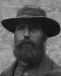 Hytteknekt Olaus Throndsen Lilleaas (1851-1930 (Foto/Photo)