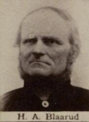 Berghallvarter Hans A. Blaarud (1832-1912) (Foto/Photo)