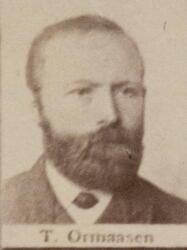 Ertssjeider Tollef O. Ormaasen (1850-1927) (Foto/Photo)