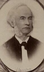 Direktør Harald Hansteen (1821-1903) (Foto/Photo)