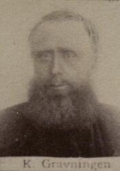 Løshauer Kristian S. Gravningen (1827-1891) (Foto/Photo)